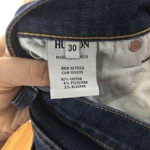 Hudson Jeans Jeans - Hudson | Skinny Raw Hem Blue Jeans 30